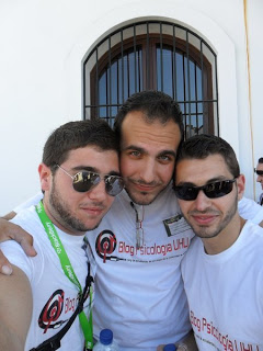 Eduardo Espinar (izq.), Adrián Infante (centro) y Daniel Fernández (dcha.)