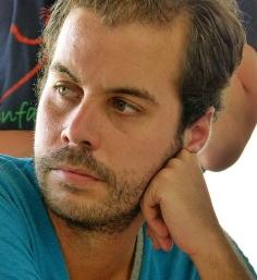 Airam Vadillo, en la casa de acogida de la ONG Anidan