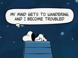 SnoopyMindWandering
